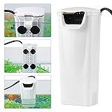 Aquarium Filter Innenfilter Wasserspiegel Filter Wasser Tauch Wasser Reinigungsapparat für niedrige...
