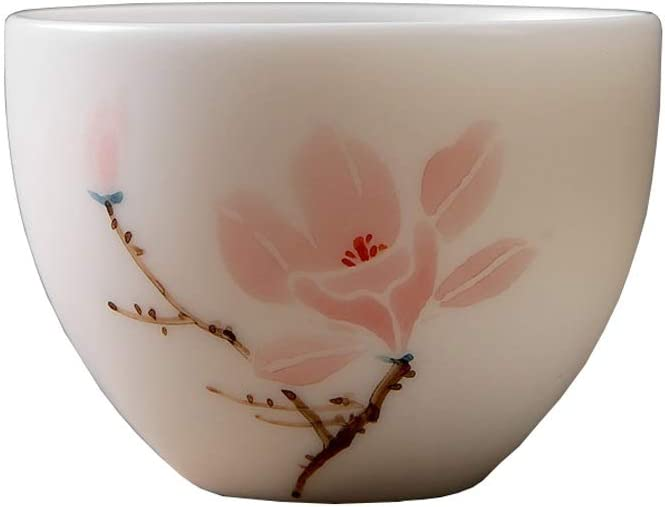 Personalized Mutton Jade Houston OFFicial Mall White Single Tea Cup Porcelain