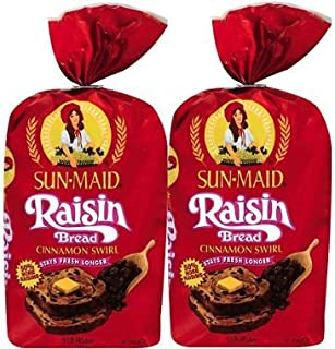 sun maid raisin bread