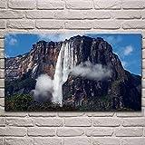 UHvEZ Engel Wasserfall Wasserfall Venezuela natürliche