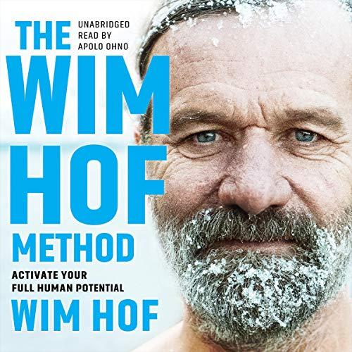 Diseño de la portada del título The Wim Hof Method