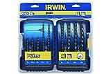 Irwin 10507111 Brocas, Set de 9 Piezas