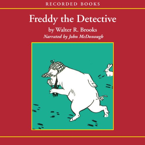 Freddy the Detective audiobook cover art
