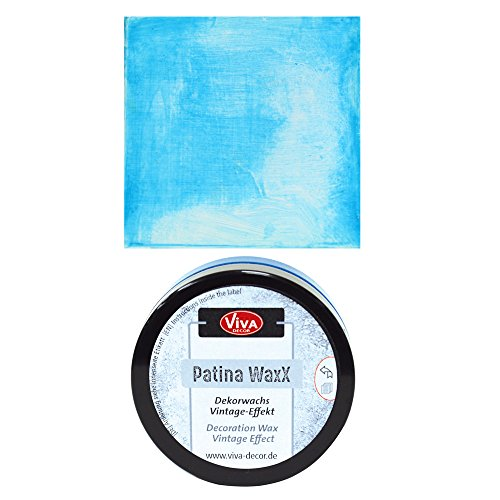 NEU Viva Decor Patina WaxX, Blau, 50 ml