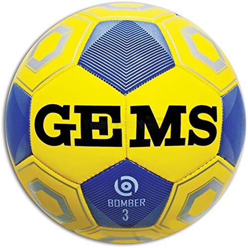 GEMS Pallone Calcio Bomber Misura 3 Primi CALCI