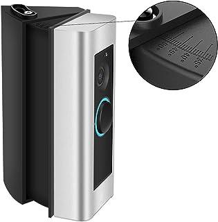 CAVN Compatible con Ring Video Doorbell Pro de ángulo ajustable Soporte (30 a 55 grados), Adaptador de ángulo Soporte de placa de montaje Kit de esquina de cuña