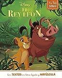 Ya leo solo... El rey León (Disney)