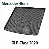 QCHD Alfombrilla de Arranque,para Mercedes-Benz A C B E S G ML GLA GLB GLC GLS GLE GLK del Maletero Trasero Bandeja de Carga Almohadilla de Piso Material de Goma TPO Negro,Clase GLE 2020