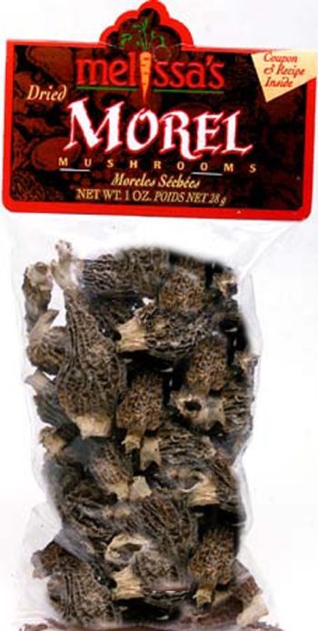 Melissa's Dealing full price reduction Dried Morel Mushrooms OFFicial Packages 1 2 oz