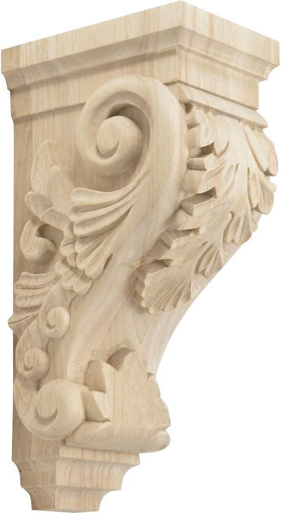 New product type Rubberwood Decorative Wood Corbel Max 54% OFF Countertop Inc 16