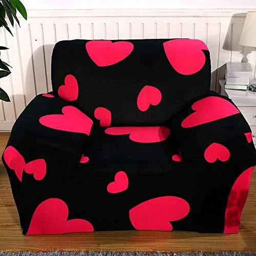WXQY Fundas elásticas Funda de sofá elástica Funda de sofá con protección para Mascotas Funda de sofá con Esquina en Forma de L Funda de sofá con Todo Incluido A2 3 plazas