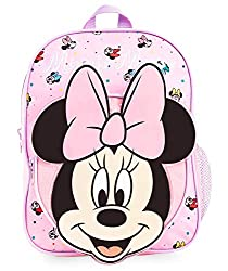 FOR ALL MINNIE MOUSE FANS --- Disney fans will absolutely love this Minnie Mouse Backpack with a beautiful 3D image of Minnie Mouse on the front. This cute rucksack has plenty of storage for books, toys or clothes and is perfect for school or travel....