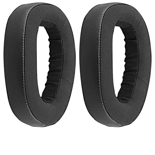 Almohadillas de repuesto para auriculares Sennheiser GSP 600, GSP 670, GSP 500 Professional Gaming Headset Ear Pad/Ear Cushion/Ear Cups/Ear Cover/Ear Cover/Earpads Repair Parts (negro)