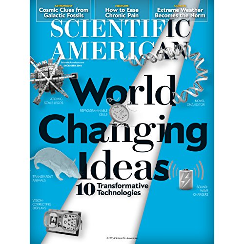 Scientific American, December 2014 audiobook cover art