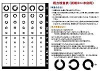 視力検査表ポスター (距離3m・家庭用)