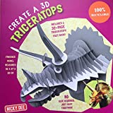 CREATE A 3D TRICERATOPS 2018 (CREATE A 3D DINOSAUR, Band 2) - Nicky Dee