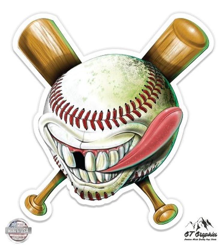 Crazy Baseball - Vinyl Sticker Waterproof Decal