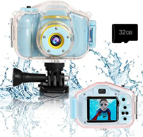 Agoigo Kids Waterproof Camera Toys for 3 12 Year Old Boys Girls Christmas Birthday Gifts Kids product image
