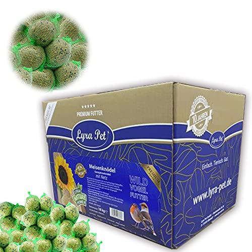 Lyra Pet® 100 x 90 g Meisenknödel mit Netz Ganzjahresknödel DEUTSCHES Produkt !