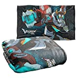 Trevco Voltron Defender of The Universe Silky Touch Super Soft Throw Blanket 36' x 58'