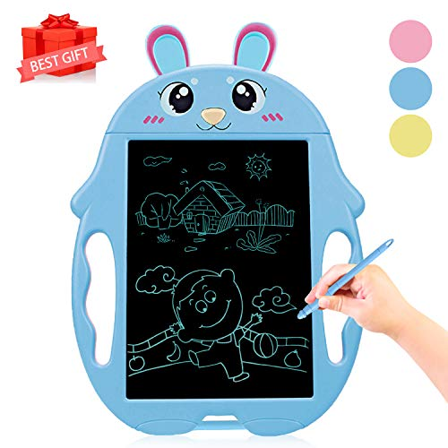 Birthday Presents for 2-7 Years Old Boys, Boogie Doodle Board LCD Writing Tablet for Kids Boys LCD Drawing Board Tablet LCD Writing Board for 1-5 Years Old Boys-Girls Digital Drawing Board Blue