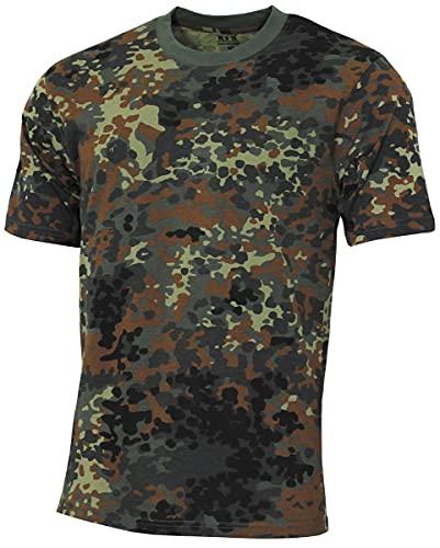 MFH 00130V US Army Herren Tarn T-Shirt Streetstyle (Flecktarn/3XL)