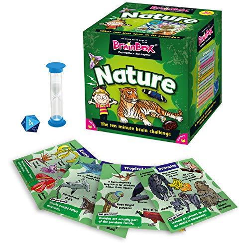 Green Board Games - Brainbox Nature, Gioco educativo [Lingua Inglese]