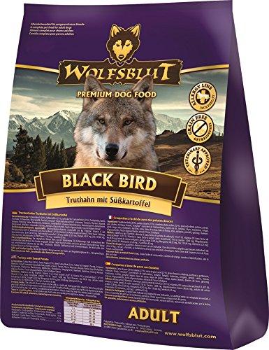 Wolfsblut | Black Bird | 2 kg | Truthahn | Trockenfutter | Hundefutter | Getreidefrei