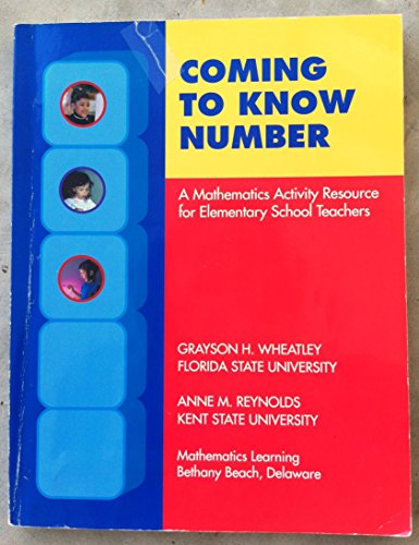 Coming to Know Number: A Mathematics Activity Resource of Elementary Teachers