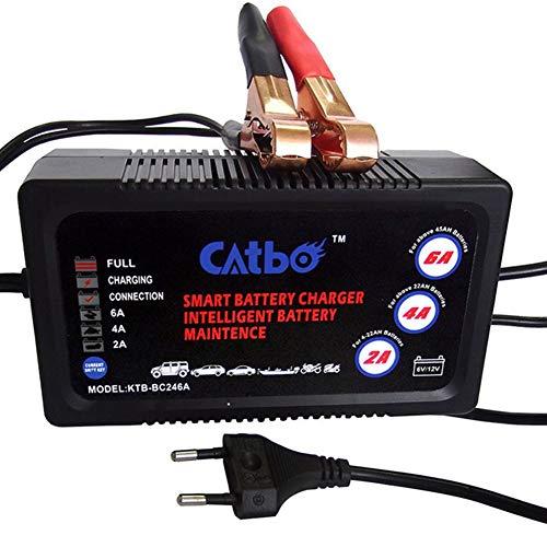 Cargador Baterias Coche Cargador Bateria 12v Cargador de batería inteligente cargador de batería Cargador de batería de coche 12v UK,One Size