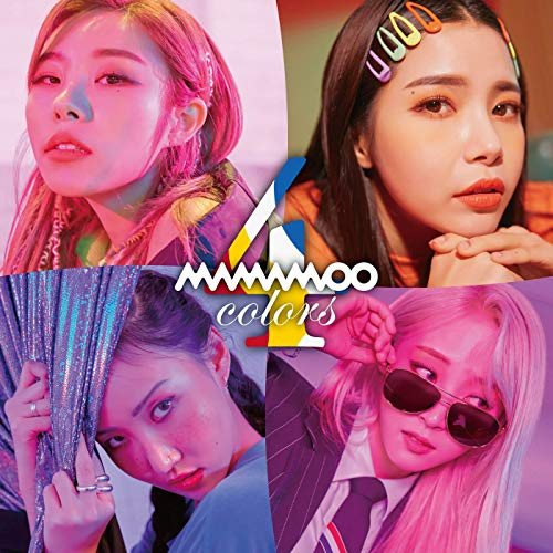 [Album]4colors – MAMAMOO[FLAC + MP3]