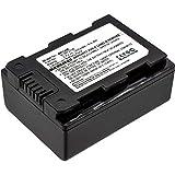 subtel Batería Compatible con Samsung HMX-F90 -F80 -F900 -F800 HMX-H200 -H400 -H300 SMX-F40 -F44 -F70 -F50 -F54 -F53 -F500 -F700 HMX-S10, IA-BP105R IA-BP210E IA-BP420E 1800mAh bateria Repuesto Pila