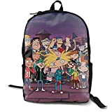 Nickelodeon Hey Arnold Character Classic Backpack for Everyday