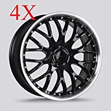 Drag DR-75 Wheels 20X8.5 5x120 Gloss Black Machined Lip Rims