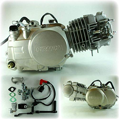 140cc Piranha Engine with 22mm Mikuni carb and electronics