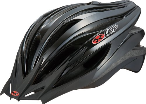 オージーケーカブト(OGK KABUTO) 自転車 ヘルメット LEFF [レフ] ガンメタル M/L