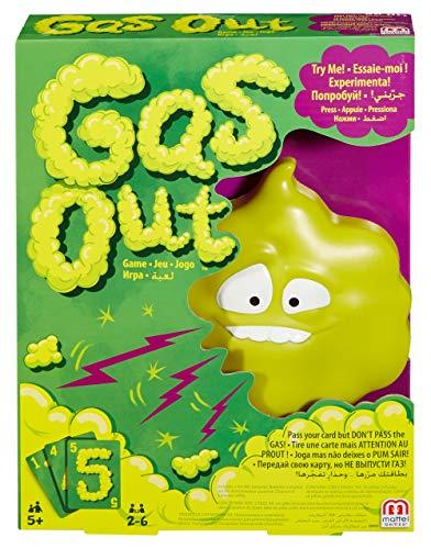 Mattel Games Gas Out, jogo de tabuleiro (Mattel DHW40)