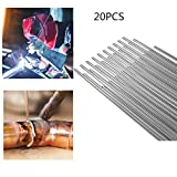 Low Temperature <span class='highlight'>Welding</span> Brazing <span class='highlight'>Rods</span>,Solution <span class='highlight'>Welding</span> Stainless Steel Copper Aluminum Iron Wire Tin Wire Accessories - No Need Solder Powder 20PCS 1.66mmX50mm