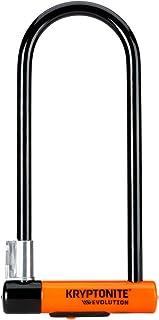 Kryptonite Evolution Series-4 LS Heavy Duty Bicycle U Lock Bike Lock with Transit FlexFrame Bracket (4-Inch x 11.5-Inch)