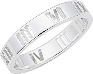 [蒂芙尼] TIFFANY 纯银 Atlas 窄戒指 戒指