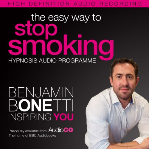 The Easy Way to Stop Smoking with Hypnosis audiobook cover art