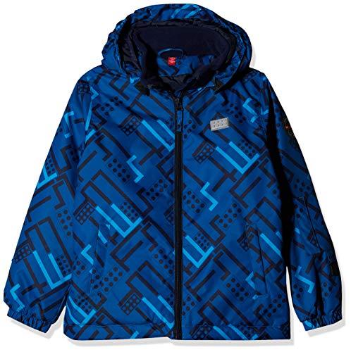 Lego Wear Jungen Lego Tec Basic LWJORDAN 700-Skijacke/Winterjacke Jacke, Blau (Blue 553), (Herstellergröße:134)