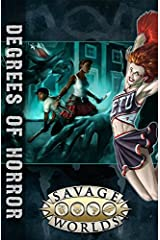 Degrees of Horror (Savage Worlds, softcover, S2P10311) Perfect Paperback