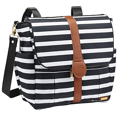 JJ Cole - Backpack, Gender Neutral Large Capacity Diaper Bag,...