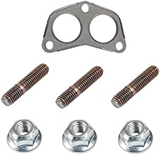 LAND ROVER RANGE DISCOVERY EXHAUST PIPE TO MANIFOLD GASKET AND STUD AND NUT KIT