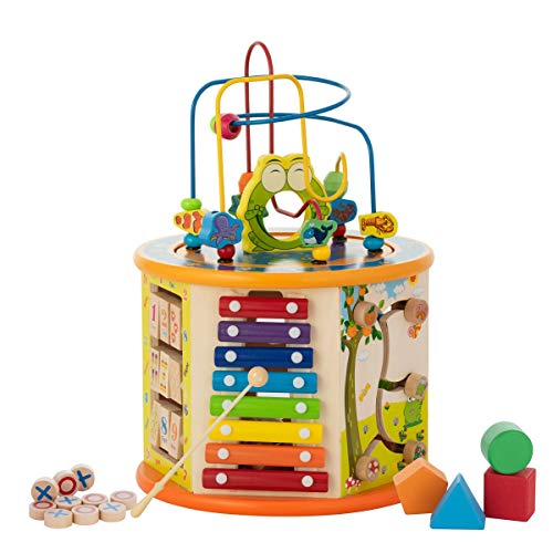 Kiddery Toys Activity Cube Wooden Center Product Image