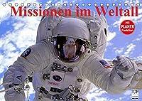 Missionen im Weltall (Tischkalender 2022 DIN A5 quer): Spannende Bilder aus der Raumfahrt (Geburtstagskalender, 14 Seiten )