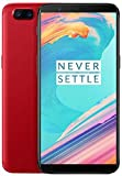 OnePlus 5T A5010 128GB Red, Dual Sim, 6.01', 8GB RAM, GSM Unlocked International Model, No Warranty