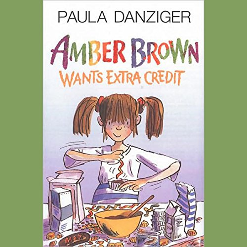 Amber Brown Wants Extra Credit audiobook cover art