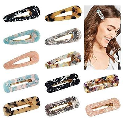 12 Stück Haarspangen für
